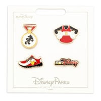 Image of Mickey Mouse runDisney Pin Set # 1