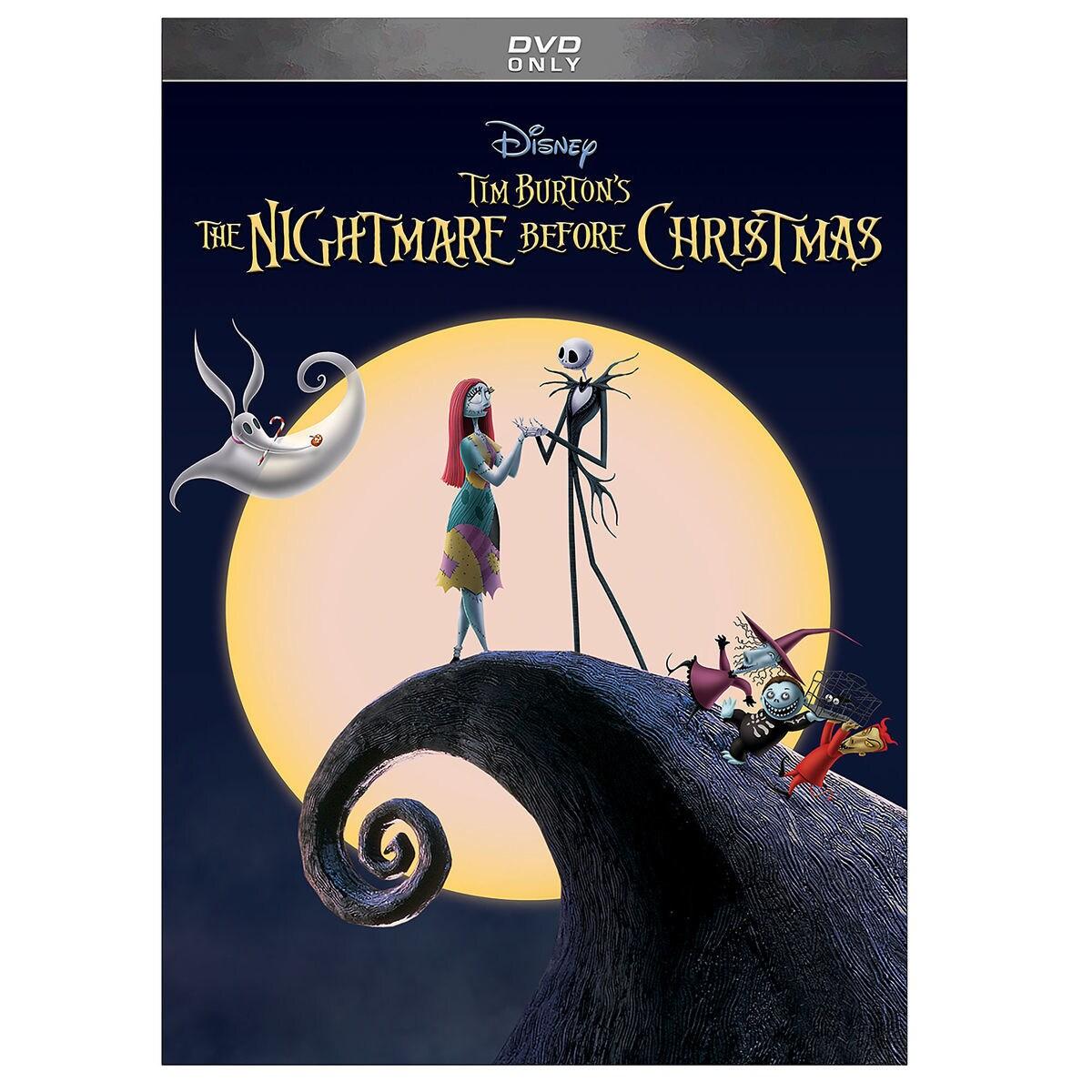 Tim Burtons The Nightmare Before Christmas Dvd Shopdisney