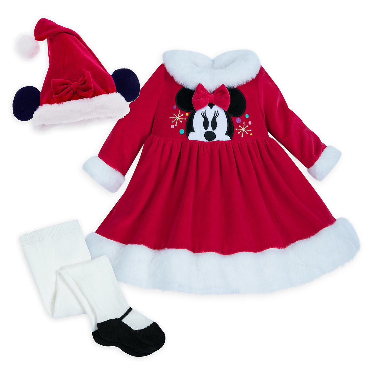 c3e8b522cb25 Santa Minnie Mouse Set for Baby