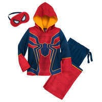 Image of Spider-Man Glow-in-the-Dark Costume Sleep Set for Boys # 1