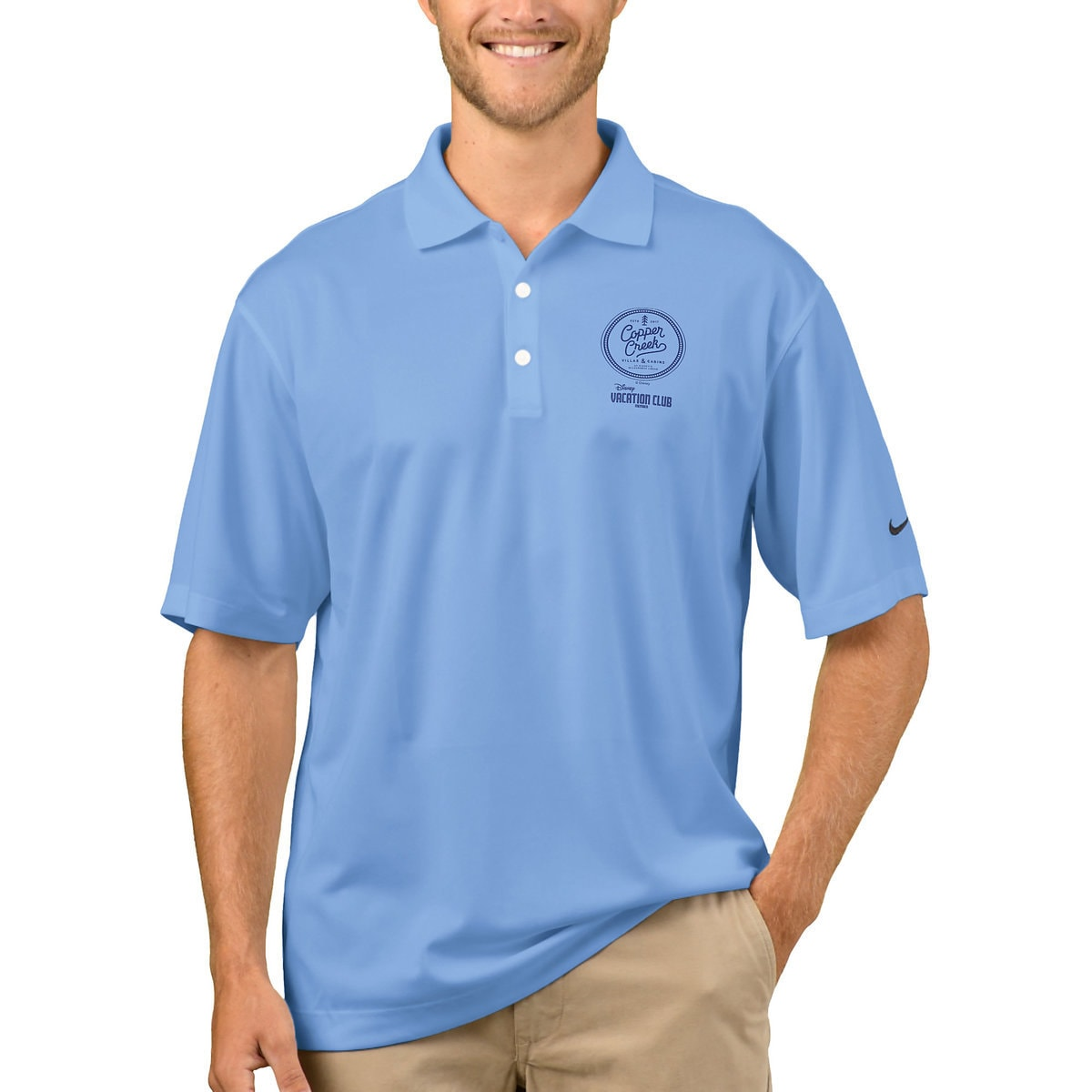 c5801dc5 Product Image of Disney Vacation Club Copper Creek Villas Nike Polo Shirt  for Men - Customizable