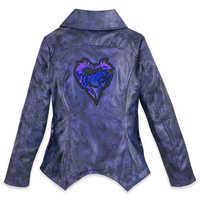 Image of Mal Faux Leather Moto Jacket for Girls - Descendants 3 # 2