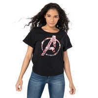 Image of Marvel's Avengers: Endgame Reversible Sequin T-Shirt for Women # 2
