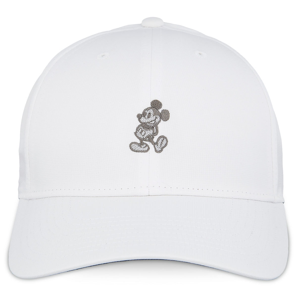 Product Image of Mickey Mouse Silhouette Baseball Hat by Nike - White   1 4c97bdea878
