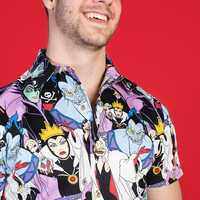 Image of Disney Villains Button-Up Shirt for Adults by Cakeworthy # 6