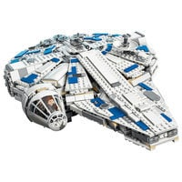 Image of Millennium Falcon Kessel Run Playset by LEGO - Solo: A Star Wars Story # 2