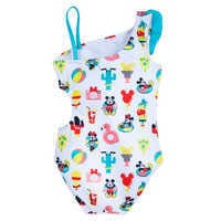 Image of Mickey and Minnie Mouse Summer Fun Swimsuit for Girls # 3