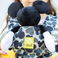 Image of Mickey and Minnie Mouse Stitched Sweethearts Doll Carrier by LÍLLÉbaby # 3