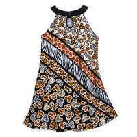 Image of Mickey Mouse Animal Print Dress for Girls - Disney's Animal Kingdom # 2