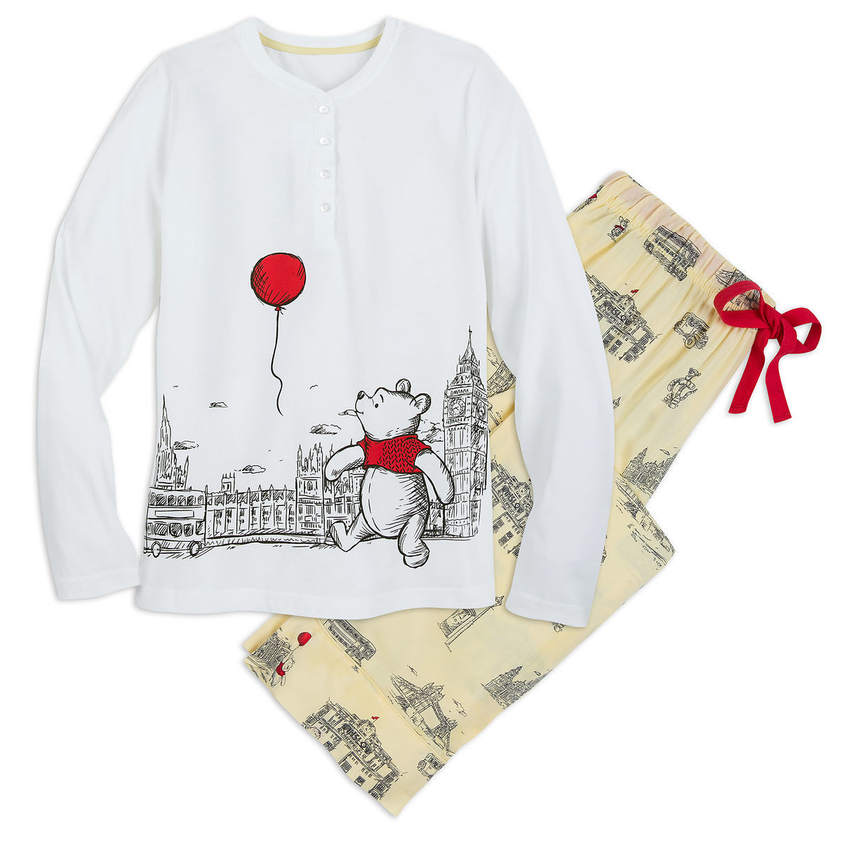 9035b420f4 Product Image of Winnie the Pooh Pajamas for Women - Christopher Robin   1