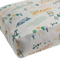 Image of Winnie the Pooh Knit Crib Sheet by Hanna Andersson # 1