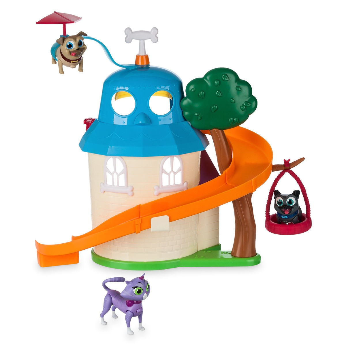 Puppy Dog Pals Ultimate Doghouse Playset With Light Up Figures