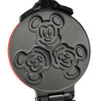 Image of Mickey Mouse 90th Anniversary Double Flip Waffle Maker # 4