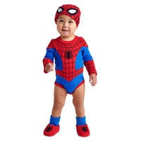 Image of Spider-Man Costume Bodysuit for Baby # 2
