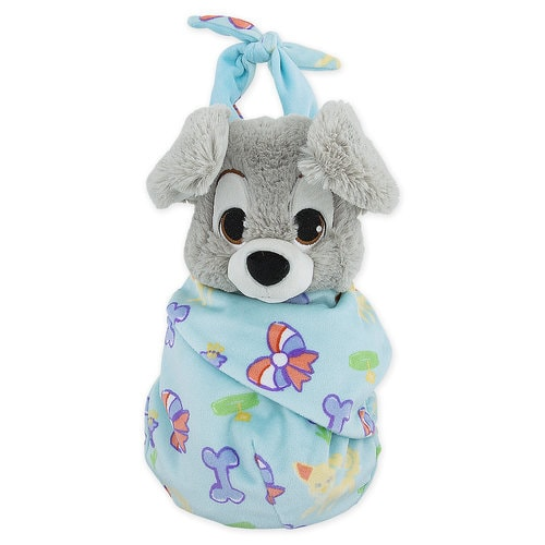 Scamp Plush With Blanket Pouch Disney S Babies Small