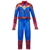 Image of Marvel's Captain Marvel Costume for Kids # 3