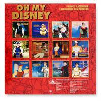 Image of Disney Prince Wall Calendar - Oh My Disney # 5
