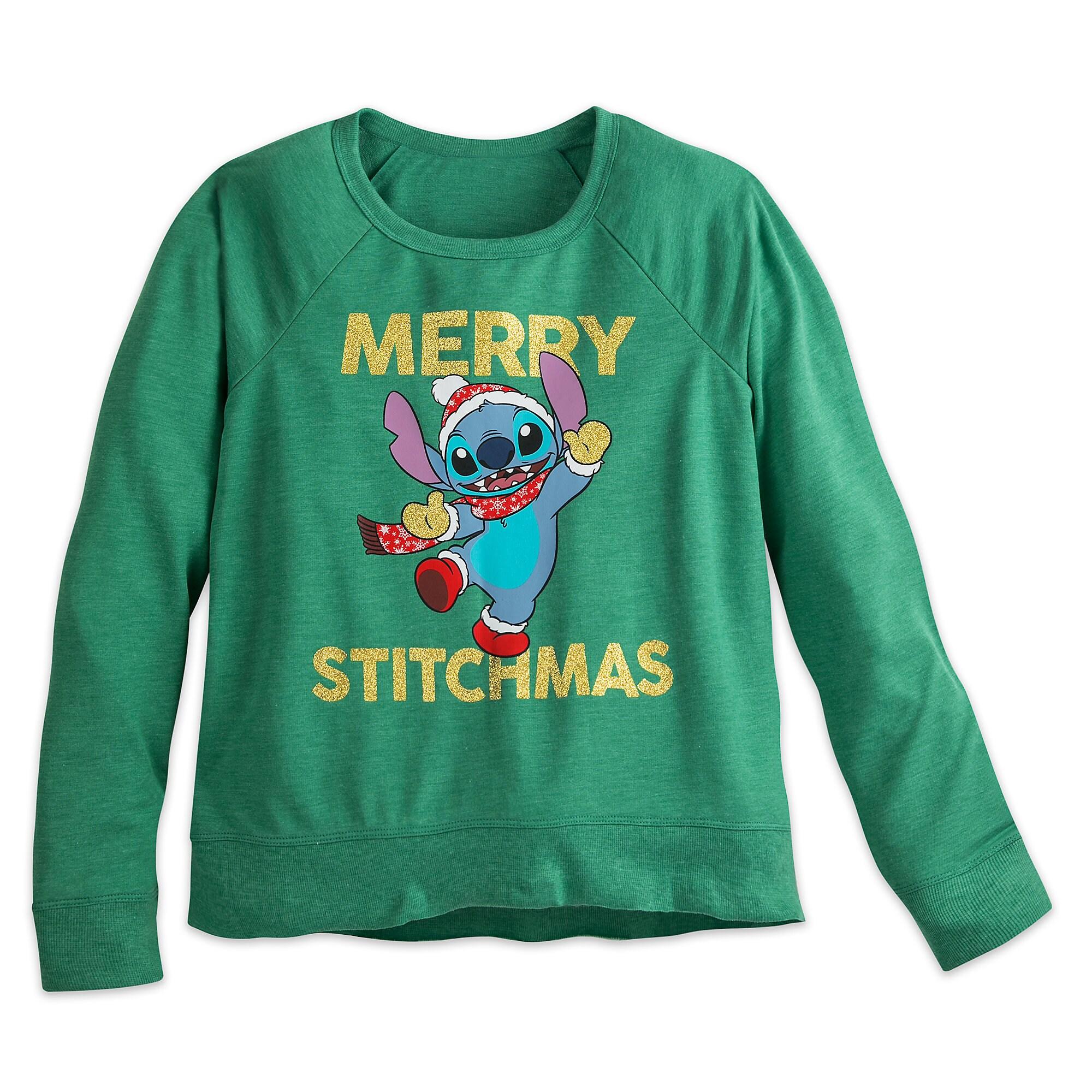 Stitch Holiday T-Shirt - Women