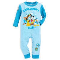 Image of Mickey Mouse and Friends Stretchie for Baby # 1