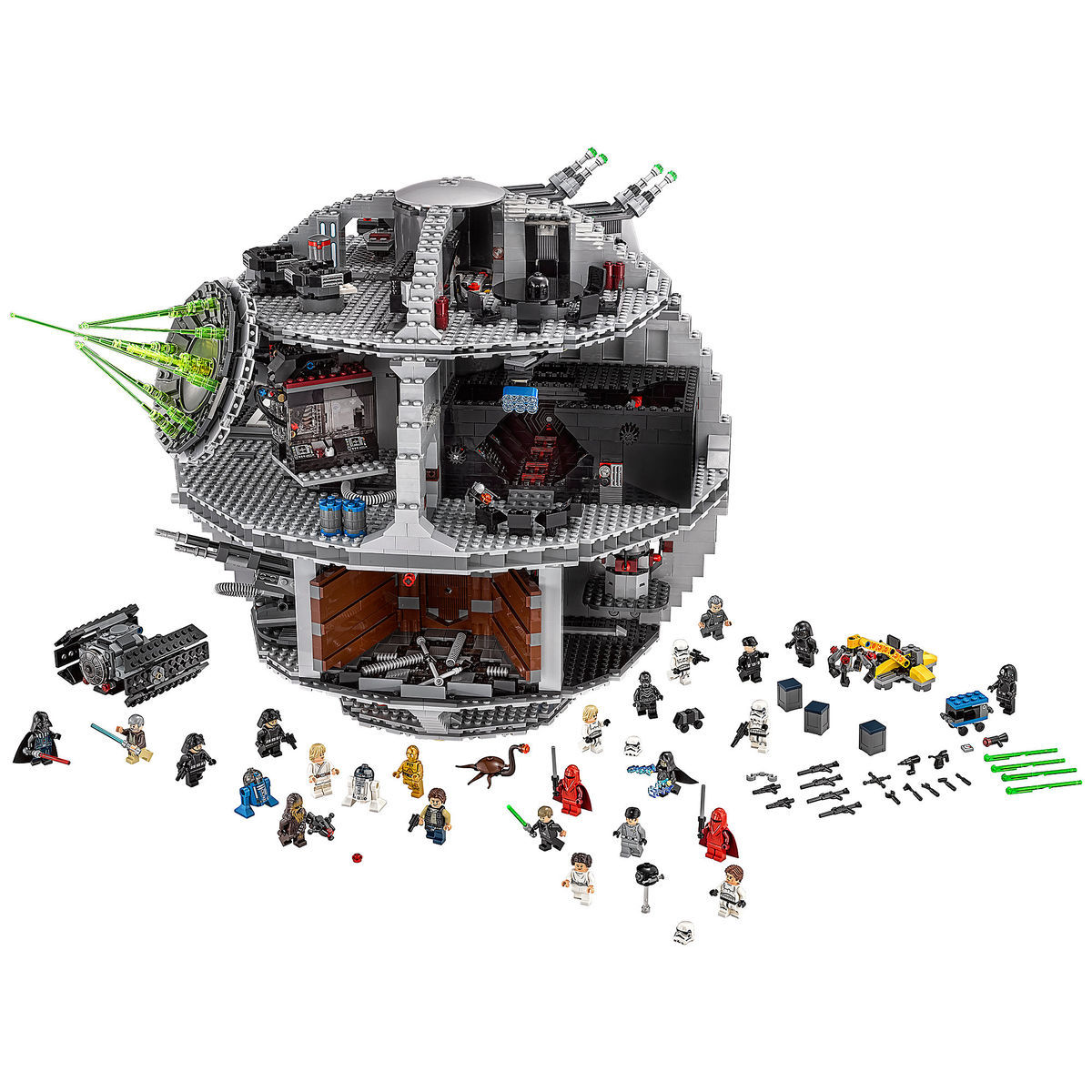 Death Star Playset By Lego Star Wars Shopdisney