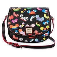 Image of Disney ''Ear Hat I AM'' Hallie Crossbody Bag - Dooney & Bourke # 1