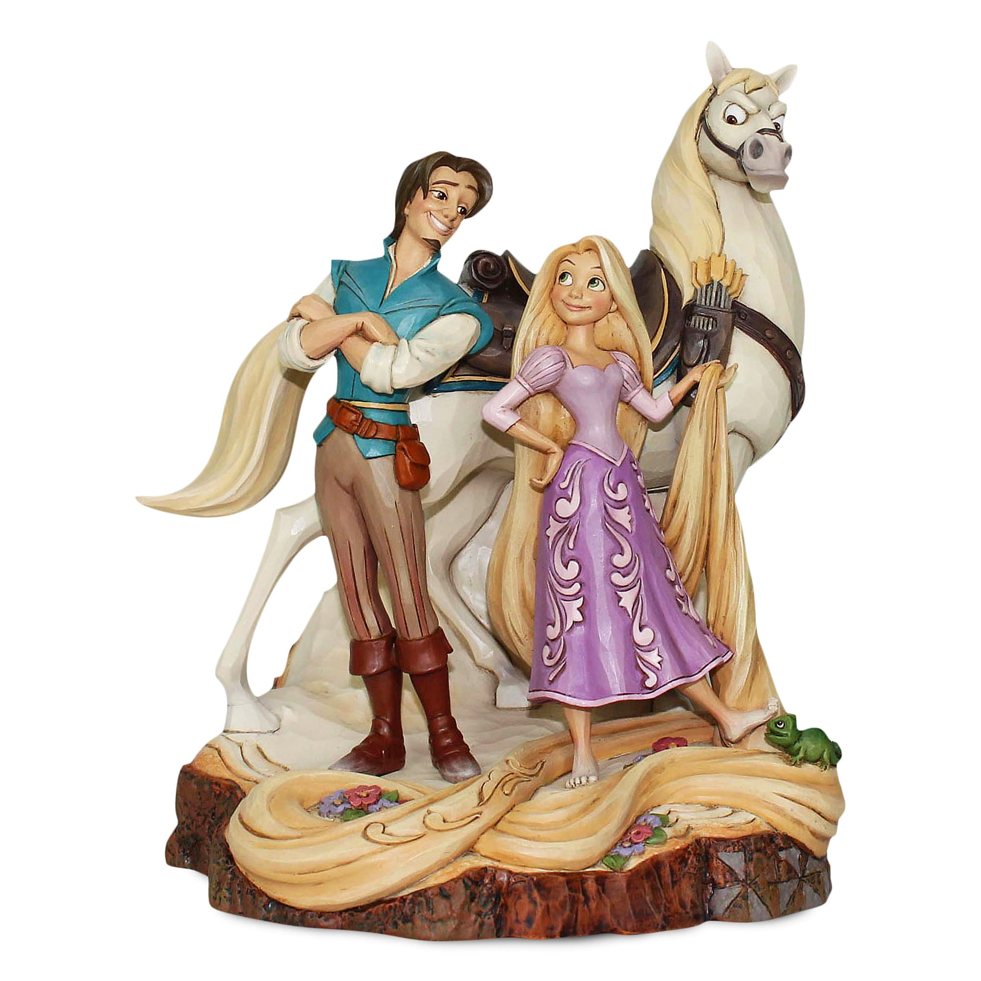 Tangled ''Carved by Heart'' Figure by Jim Shore
