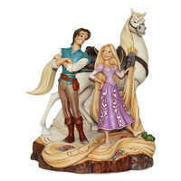 Image of Tangled ''Carved by Heart'' Figure by Jim Shore # 1