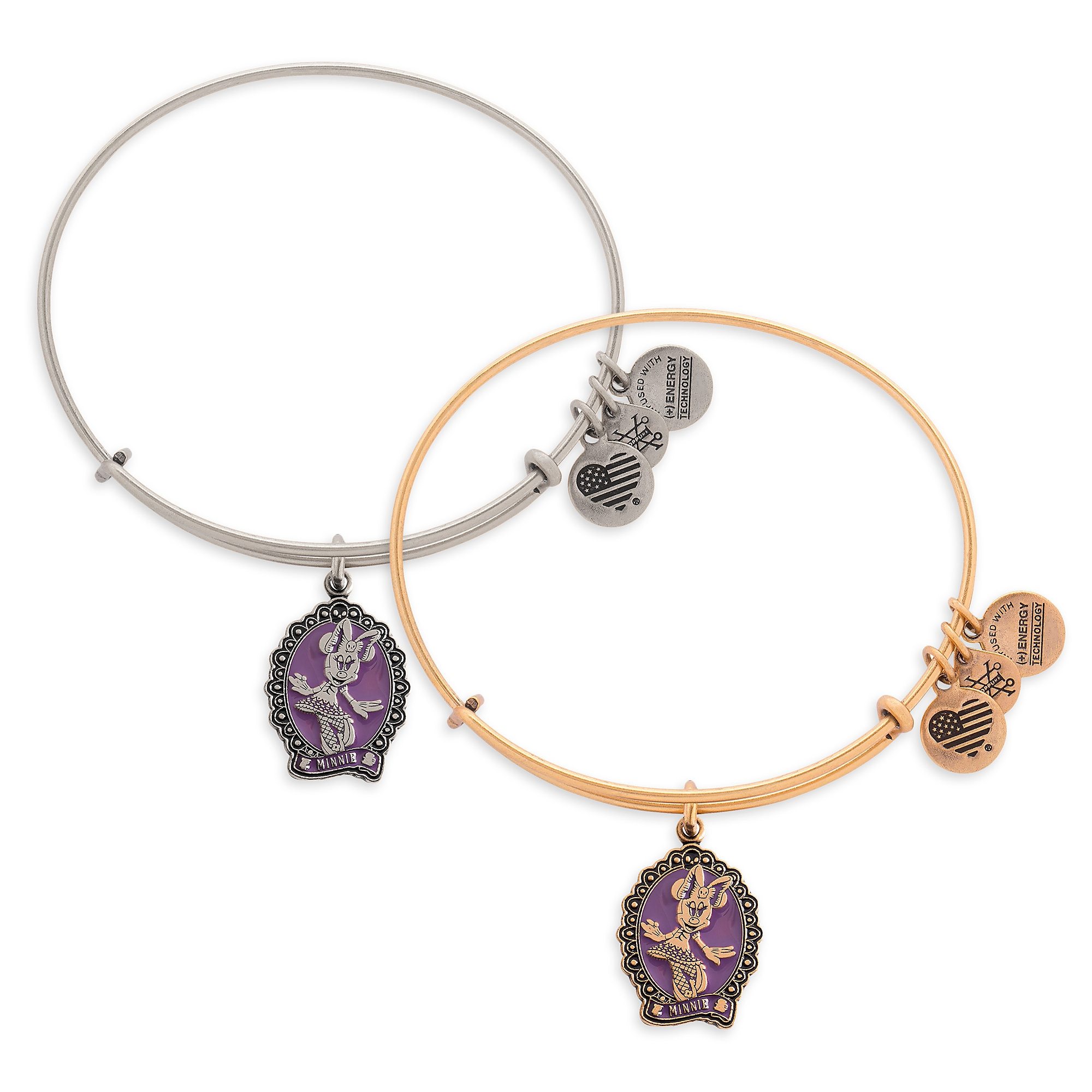 Minnie Mouse Halloween Bangle by Alex and Ani