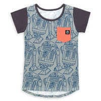 Image of R2-D2 T-Shirt for Toddler and Kids by Rags # 1