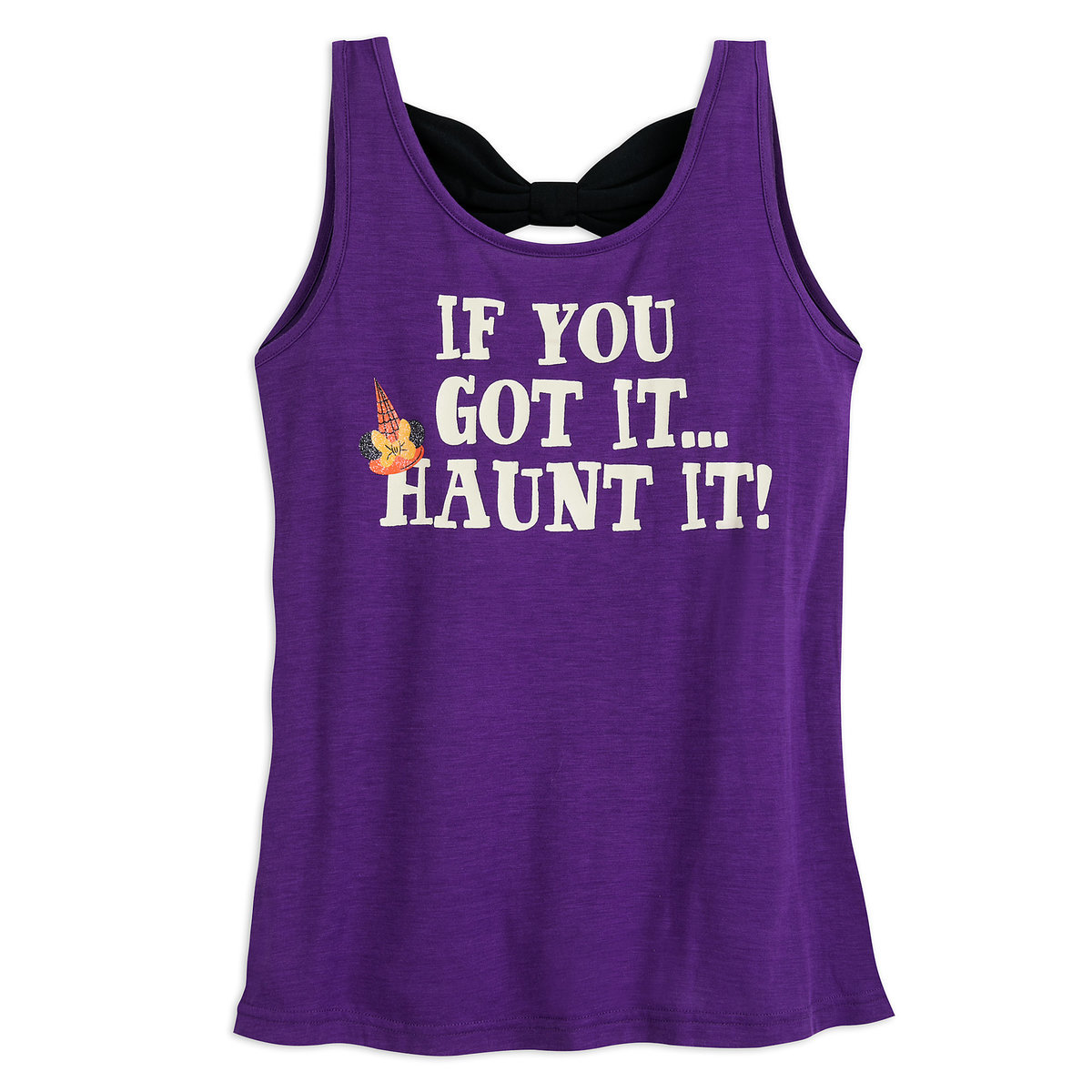 de5a4ff032778 Product Image of Minnie Mouse Halloween Tank Top for Women   1