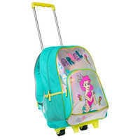 Image of The Little Mermaid Rolling Backpack - Personalized # 2