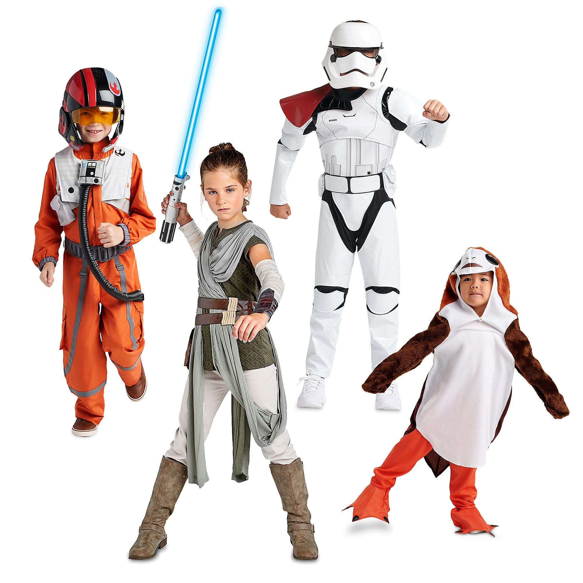 Star Wars: The Last Jedi Costume Collection for Family