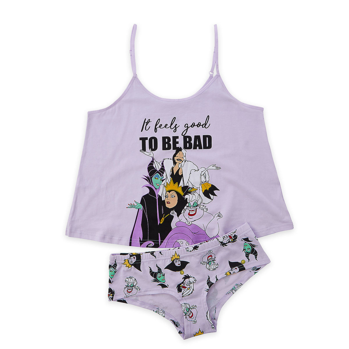 fa9f91d22b5 Product Image of Disney Villains Cami and Brief Set for Women   1