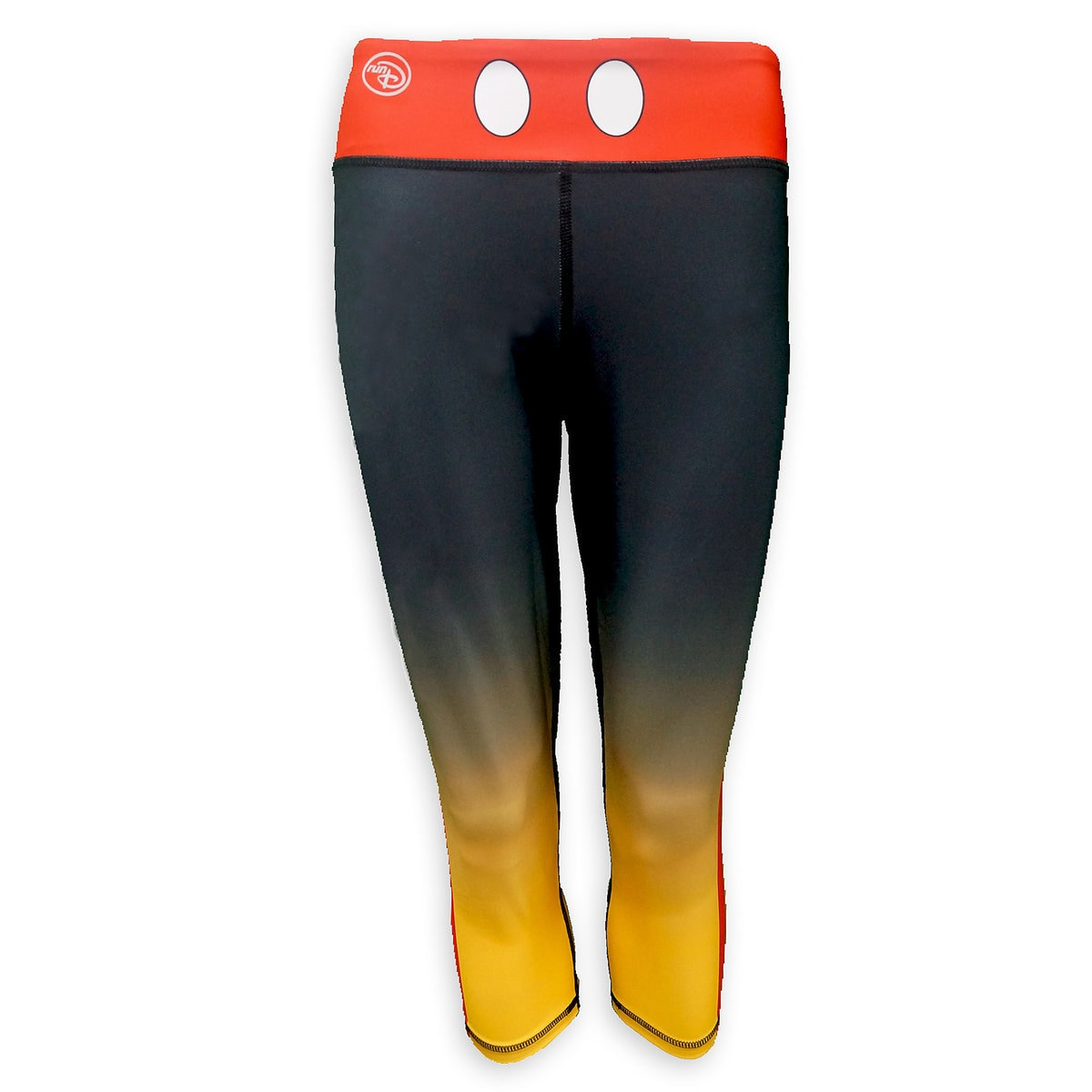 56db3a1c15ba39 Product Image of Mickey Mouse runDisney Performance Capri Leggings for  Women # 1
