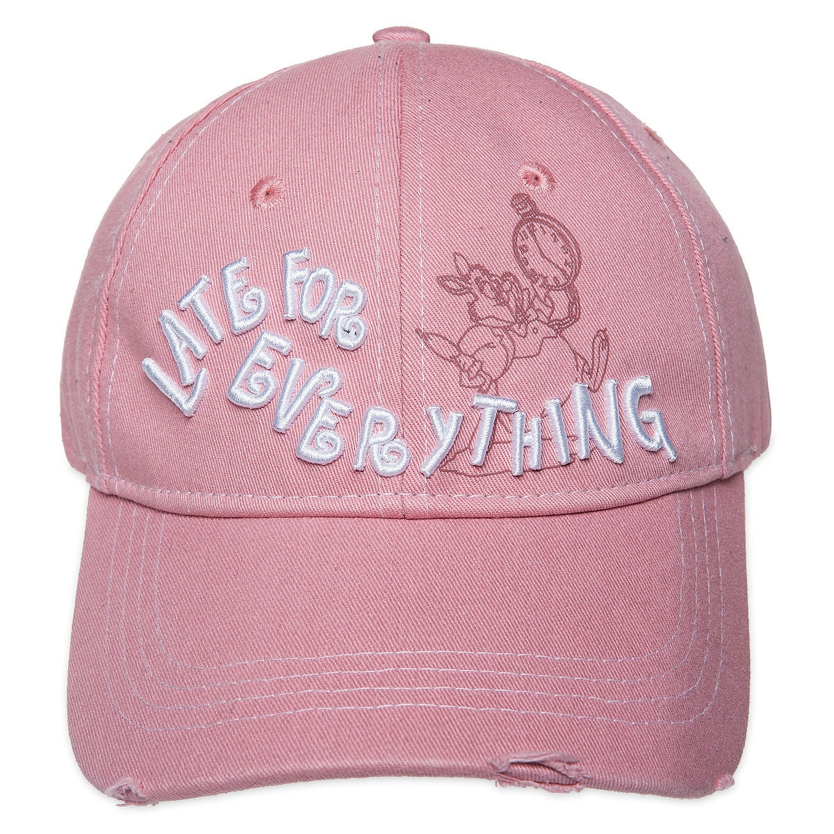 a0c5f4d7a68 Product Image of White Rabbit   Late For Everything   Baseball Cap for  Adults