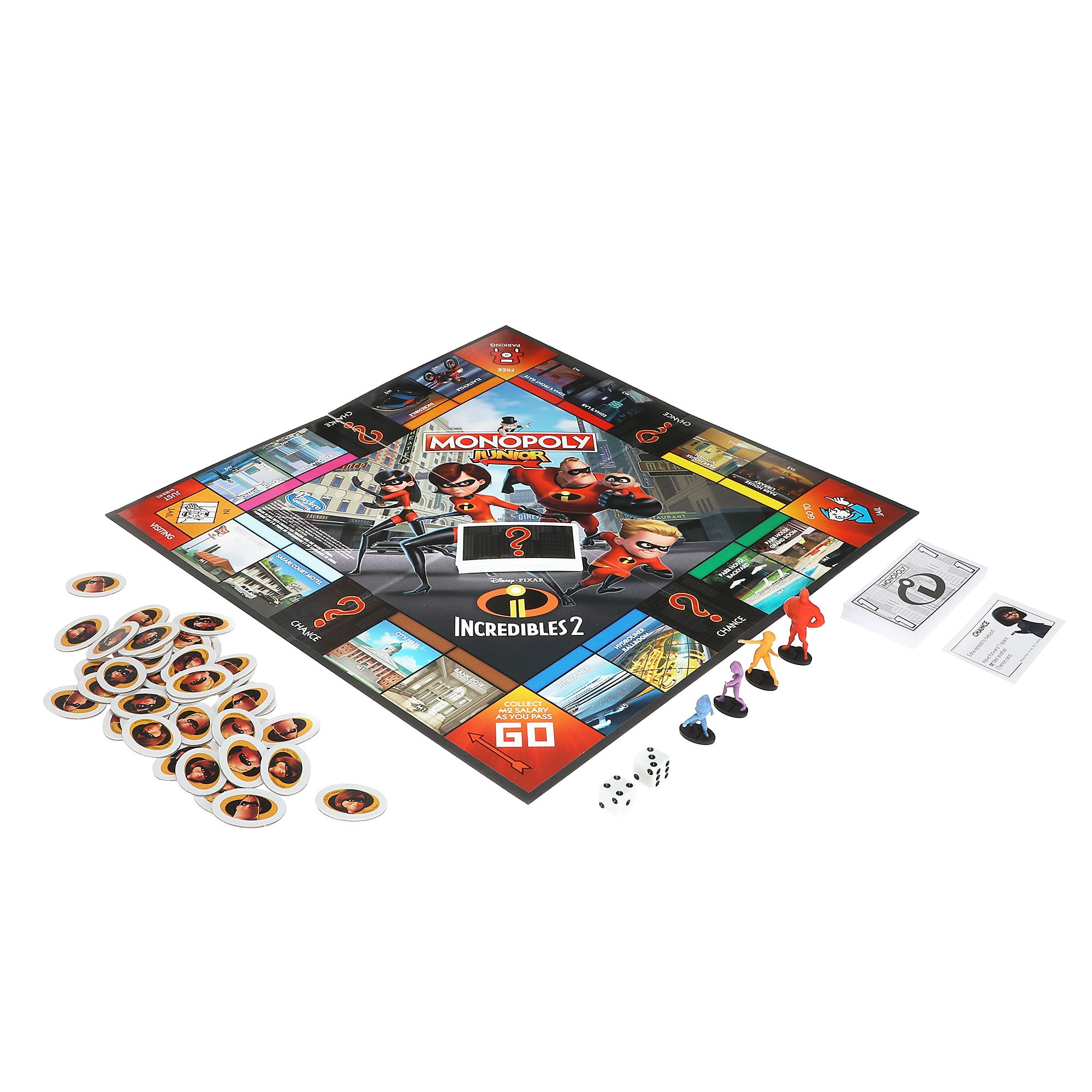 Incredibles 2 Monopoly Junior Game