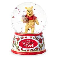 Image of Winnie the Pooh 'Silly Old Bear' Snowglobe - Jim Shore # 1