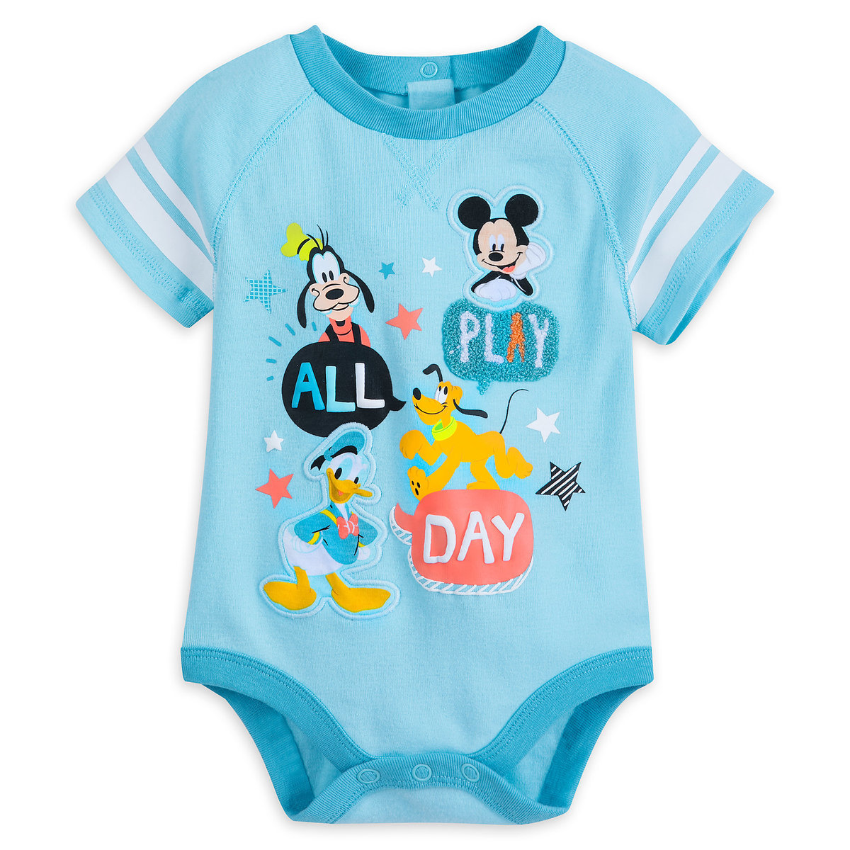 Mickey Mouse and Friends Cuddly Bodysuit for Baby | shopDisney