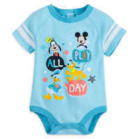 Image of Mickey Mouse and Friends Cuddly Bodysuit for Baby # 1