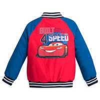 Image of Lightning McQueen Varsity Jacket for Boys - Personalizable # 2