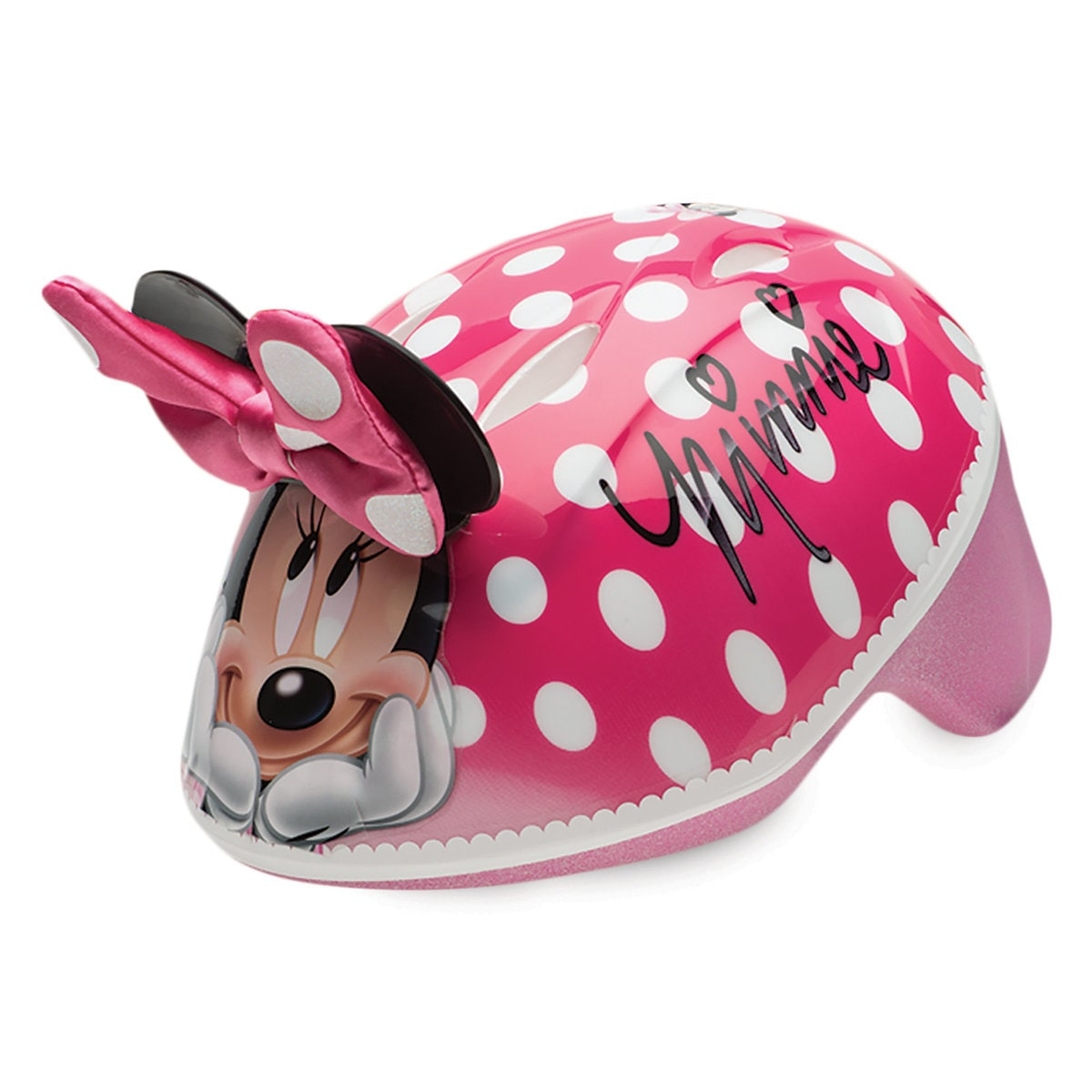 Product Image of Minnie Mouse Bike Helmet for Toddlers # 1