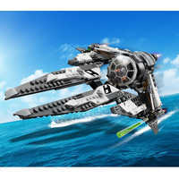 Image of Black Ace TIE Interceptor Play Set by LEGO - Star Wars Resistance # 2
