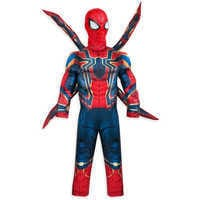 Image of Iron Spider Costume for Kids - Marvel's Avengers: Infinity War # 1