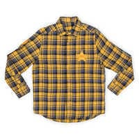 Image of Woody Flannel Shirt for Adults by Cakeworthy - Toy Story 4 # 2