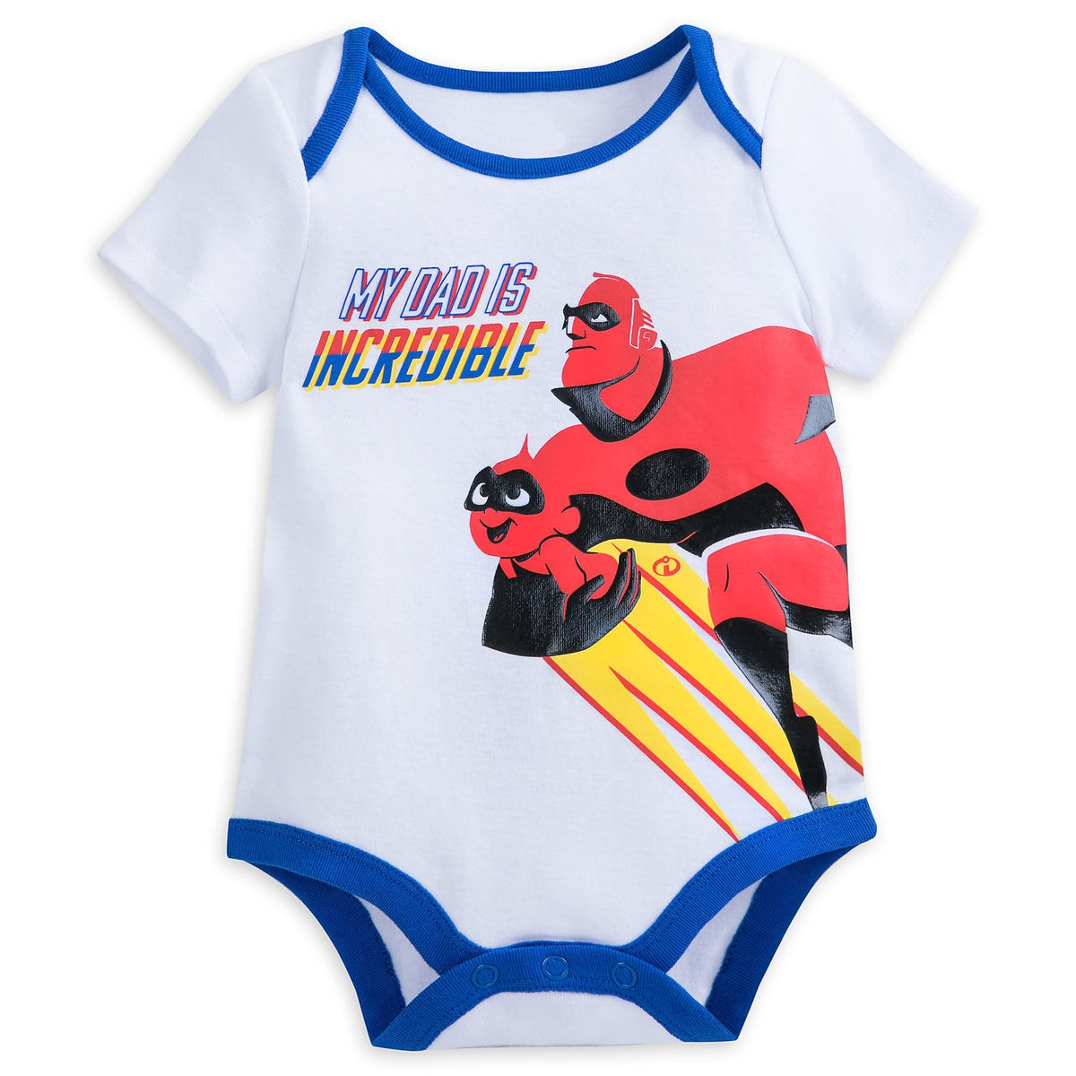 Thumbnail Image of Incredibles 2 Bodysuit for Baby - White # 1