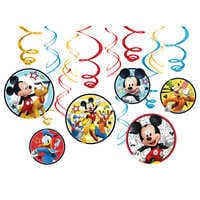 Image of Mickey Mouse On the Go Swirl Decoration Set # 1