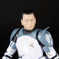 Image of Clone Commander Wolffe Action Figure - Star Wars: The Clone Wars - The Black Series # 6