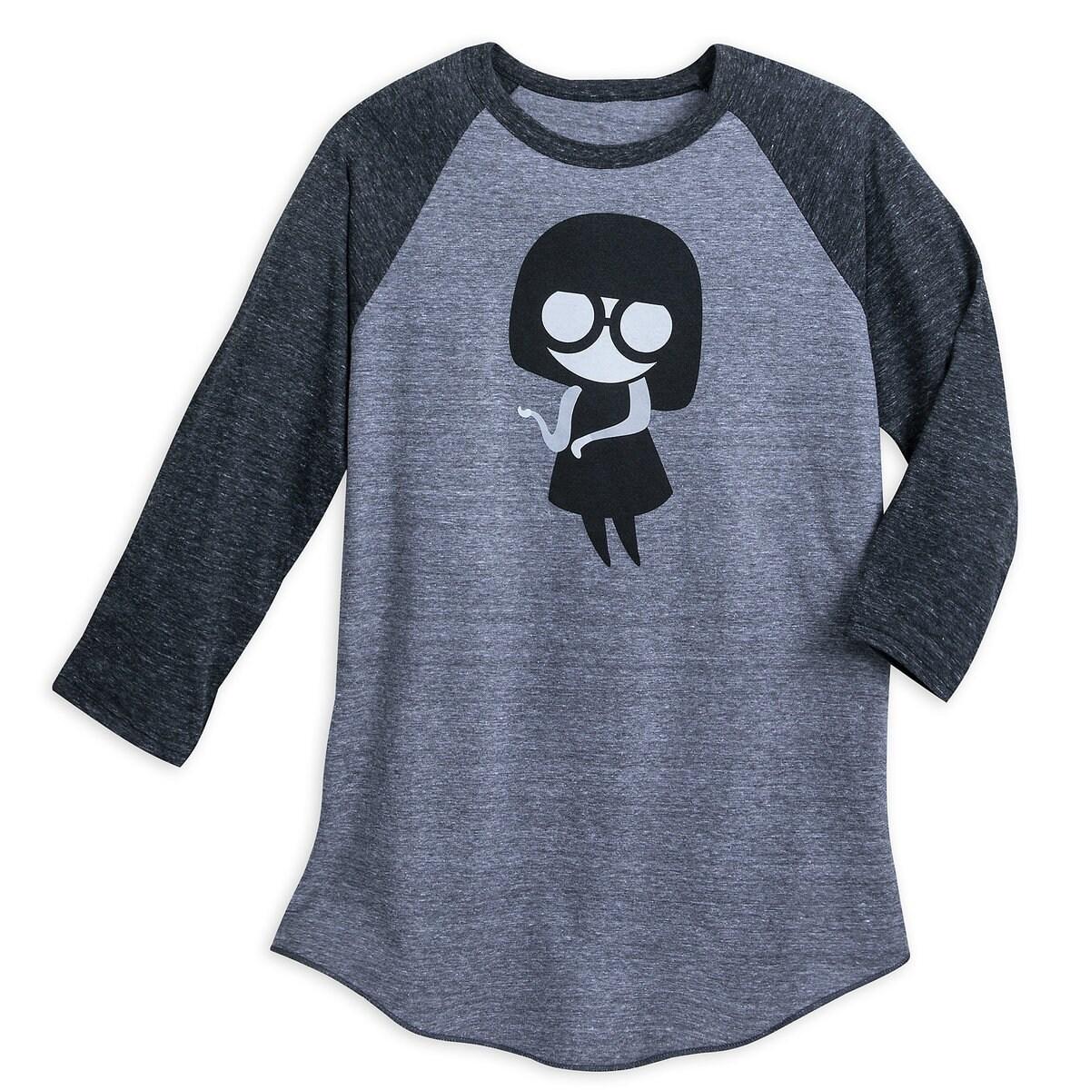 ee757fd5f Edna Mode ''No Capes'' Raglan T-Shirt for Women | shopDisney