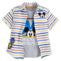 Image of Mickey Mouse Shirt Set for Boys # 1