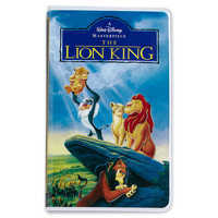 Image of The Lion King ''VHS Case'' Journal - Oh My Disney # 1